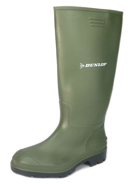 Dunlop Price Master 380VP/PP Green Wellingtons